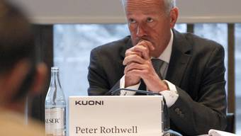 Kuoni-CEA Peter Rothwell muss per Ende Juni den Hut nehmen (Archiv).