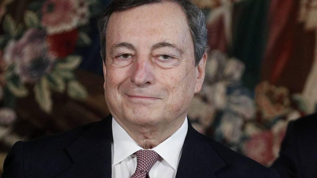 Draghi stellt Programm vor: «Einheit ist Pflicht»