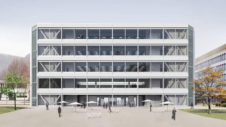 Das Gebäude der Basler Architekten Christ & Gantenbein hat 10 000 Quadratmeter.