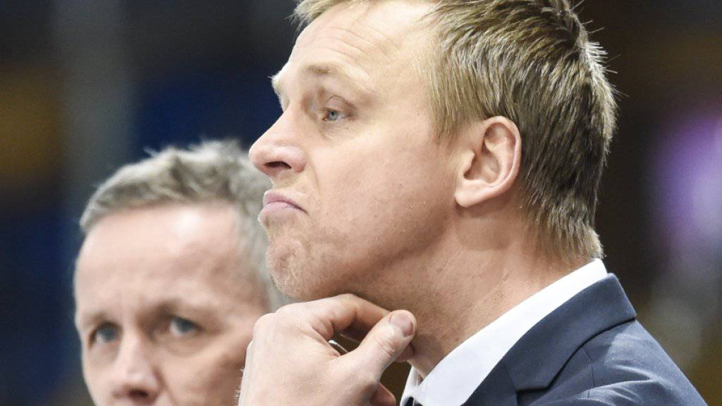 Hans Wallson (rechts) wird laut «Tages-Anzeiger» neuer Headcoach der ZSC Lions