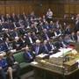 Das britische Parlament hat am Dienstag den straffen Brexit-Zeitplan von Premierminister Boris Johnson gekippt.