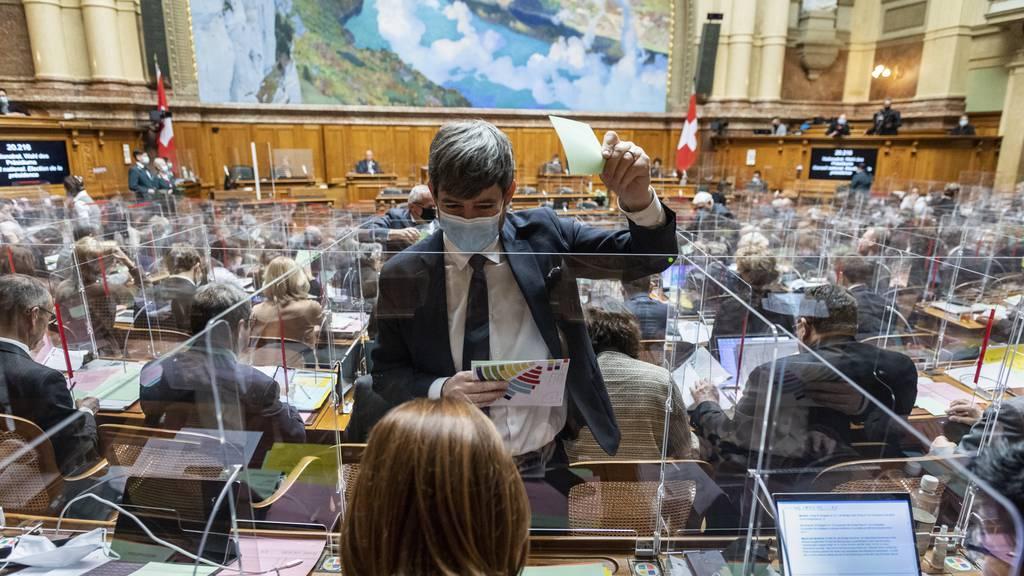 Nationalrat hat Notbudget schon beschlossen