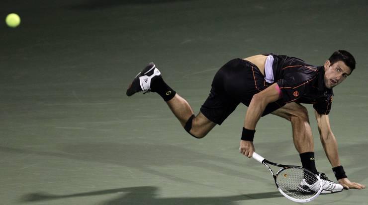 ... doch Djokovic hält dagegen.