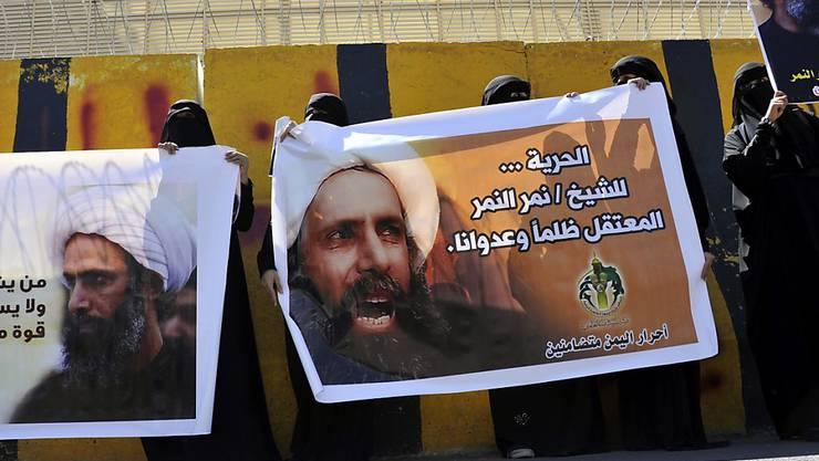 Seine Hinrichtung in Saudi-Arabien sorgt für gewaltsamen Protest im Iran: schiitischer Geistlicher Nimr al-Nimr. (Archiv)