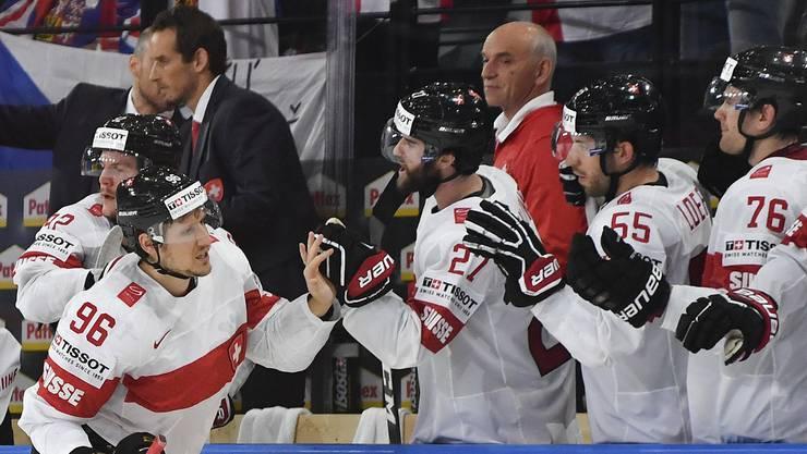 Die Schweizer gewinnen 3:1 gegen Tschechien und schliessen die Gruppenphase somit auf Rang 2 ab.