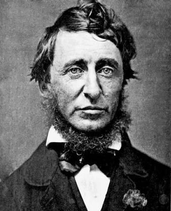 Henry David Thoreau (1817–1862) ist einer der grossen Nationaldichter der USA. Vom Transzendentalisten Ralph Waldo Emerson inspiriert, zog Thoreau 1845 für zwei Jahre in eine Blockhütte im Wald. Über seinen Ausstieg auf Zeit und den Versuch, in der Wildnis zu sich selbst zu finden, schrieb er in «Walden oder Leben in den Wäldern».