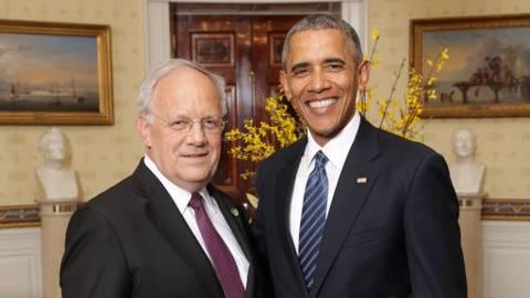 Schneider Ammann und Obama