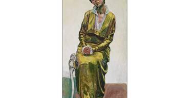 """War einem ausländischen Bieter gut 1,3 Millionen Franken wert: Das Porträt """"Bildnis von Emma-Schmid-Müller"""" des Schweizer Malers Ferdinand Hodler."""