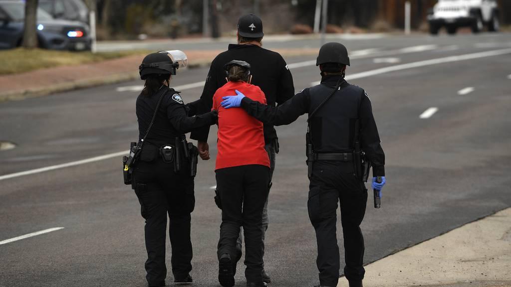 Supermarkt-Blutbad in den USA: Schütze tötet zehn Menschen