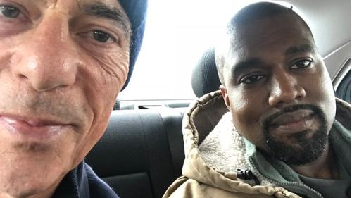 Kanye West zu Besuch in Basel