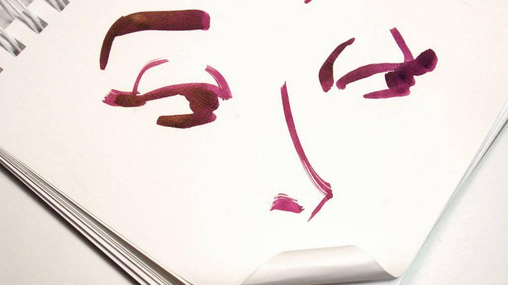 """Read my lips - Christoph Niemanns Skizzenbuch sagt alles. Und das Basler Cartonmuseum zeigt es allen, ab Samstag in der Ausstellung """"Christoph Niemann. That's How!"""""""
