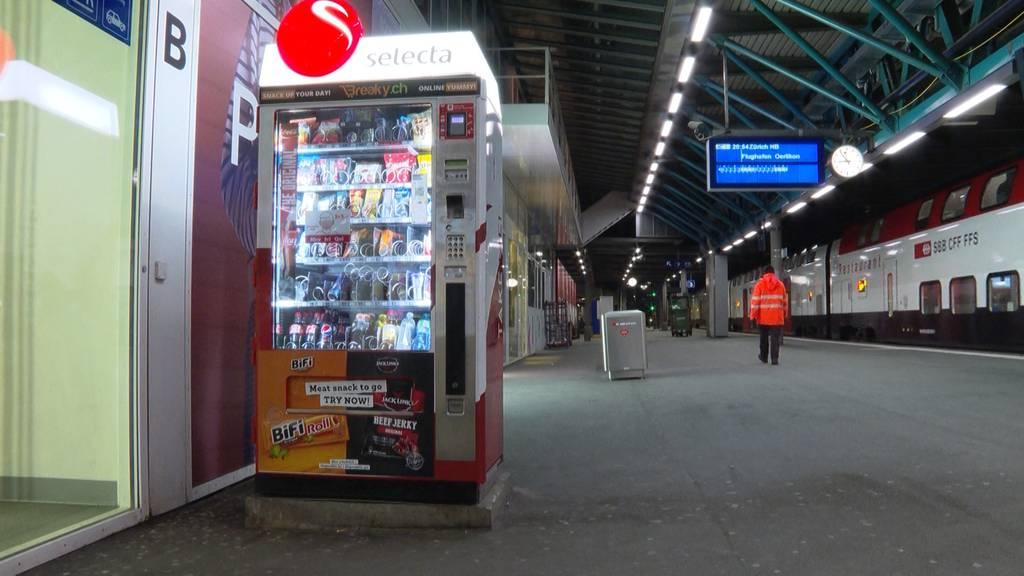 Winterthurer Selecta-Automat im Höhenflug