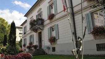 An seiner nächsten Sitzung wird der Einwohnerrat über den Kredit für die Sanierung der Zurlindenvilla zu befinden haben.uw