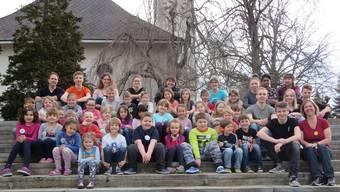 Die Teilnehmer am Home Camp der ref. Kirche Grenchen-Bettlach.