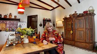 Altstadt-Bewohnerin: Trudi Gerster empfing die bz 2009 in ihrer Küche.