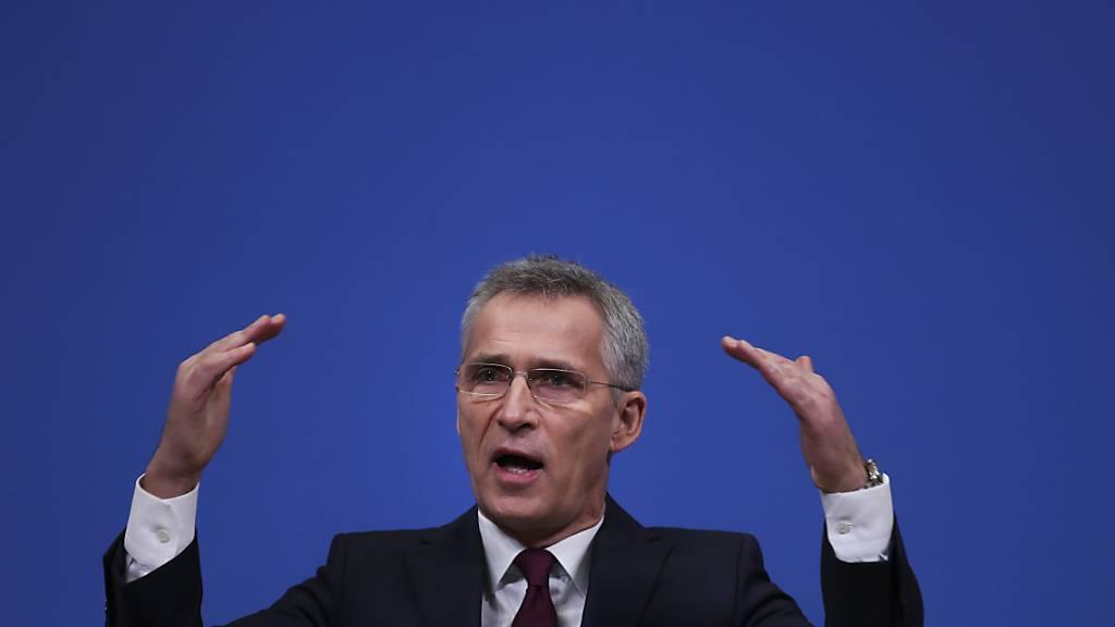 Stoltenberg: Nato baut Irak-Mission gegen die IS-Miliz aus