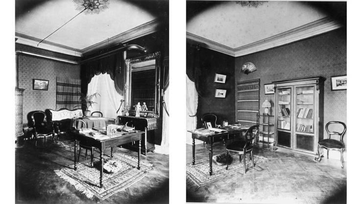 So sahen Arbeitsplätze 1891 in den Zürcher Häusern aus.