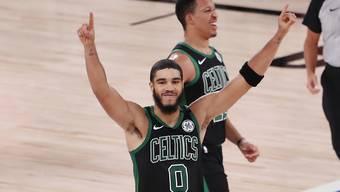 Jayson Tatum bring die Boston Celtics dank einer starken Leistung in die Halbfinals der NBA-Playoffs