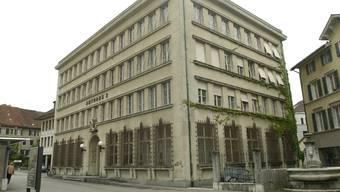 Der Sitz des Amtsgerichts Solothurn-Lebern. (Archivbild)