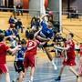 Mit 36:21 bezwingen die Junioren des HSG Aargau Ost das viertplatzierte SG Muri/Wohlen.