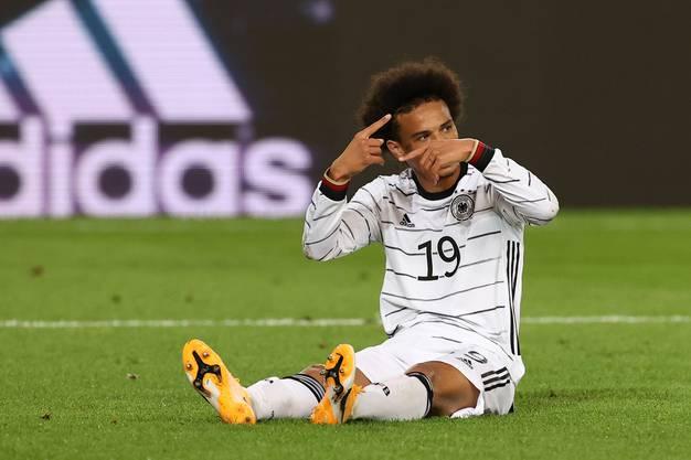 Nach 63 Minuten war Schluss: Leroy Sané musste bei seinem Comeback im Nati-Dress entkräftet ausgewechselt werden.