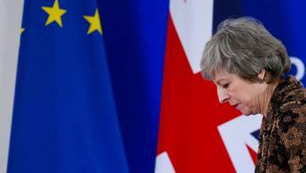 Wie weiter beim Brexit? Die britische Premierministerin Theresa May warnt vor einem zweiten Referendum. (Archiv)