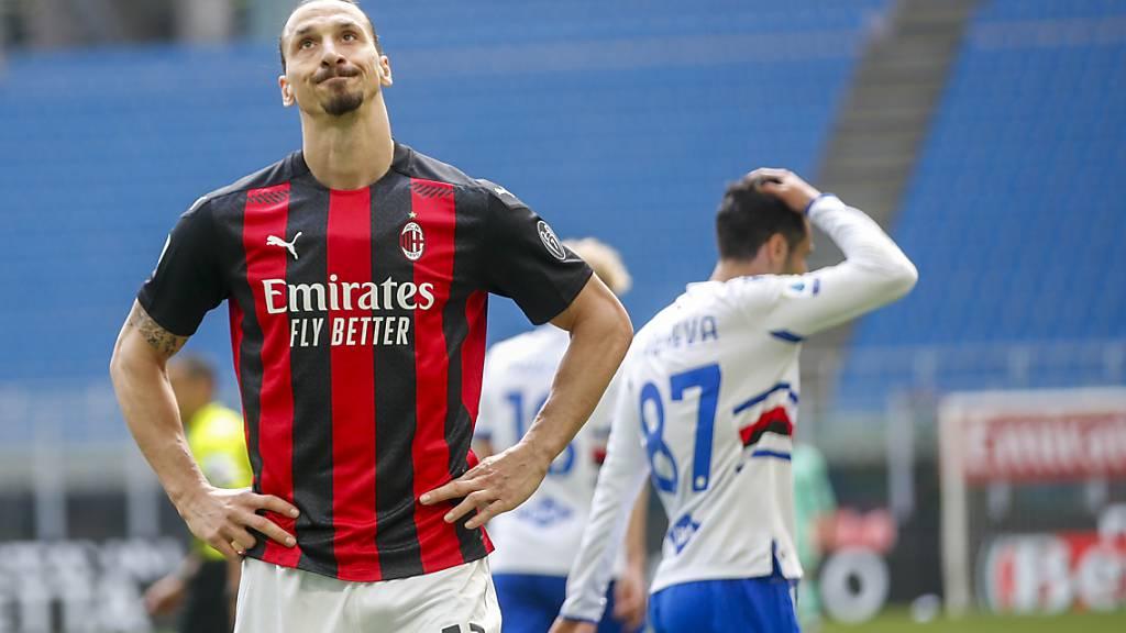 Verfolger Milan und Juve geben Punkte ab