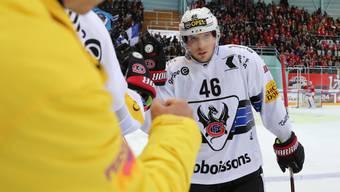 Matthias Rossi aus Menziken bekennt sich zu Fribourg-Gottéron und verlängerte seinen Vertrag um drei Jahre