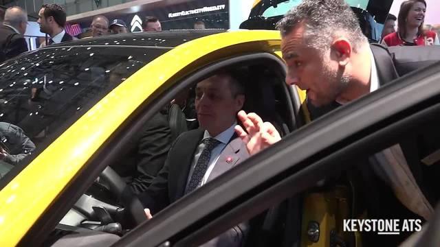 Ignazio Cassis eröffnet 89. Autosalon in Genf
