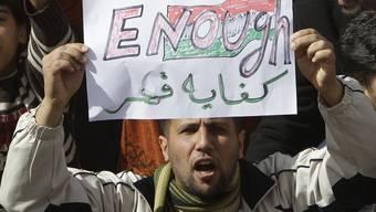 Gaddafi verliert den Rückhalt