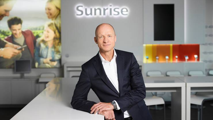 Im Streit mit dem grössten Anteilseigner Freenet: Sunrise-CEO Olaf Swantee.