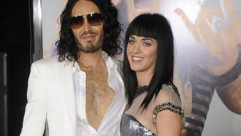 Frisch verheiratet: Russell Brand und Katy Perry (Archiv)