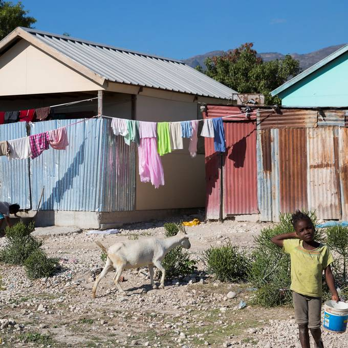 Wiederaufbau Haitis