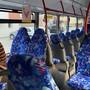 Der Bus zwischen Olten und Läufelfingen ist bei der Fahrt am Dienstag fast leer.