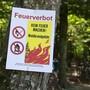 Das absolute Feuerverbot wird aufgehoben. Neu gilt ein bedingtes Feuerverbot.