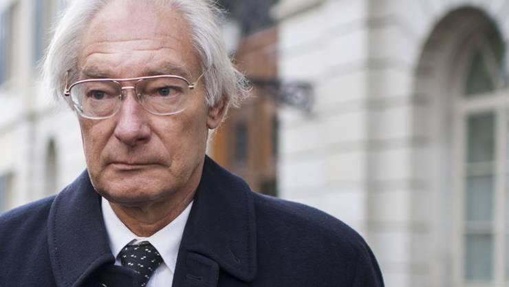 Rolf Erb starb am 8. April infolge einer Herzkrankheit, wie die Thurgauer Staatsanwaltschaft am Freitag mitteilte.  (Archivbild)
