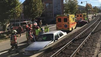 Unfall in Hölstein