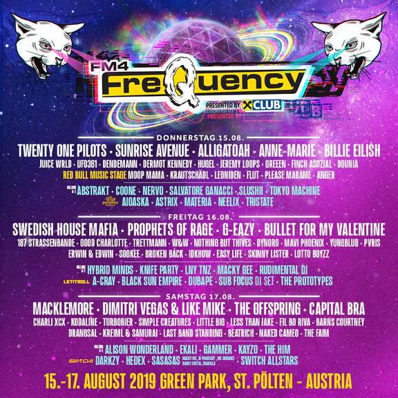 Bild: Line-up Frequency