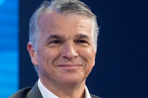 UBS-Chef Sergio P. Ermotti. (KEYSTONE/Laurent Gillieron)