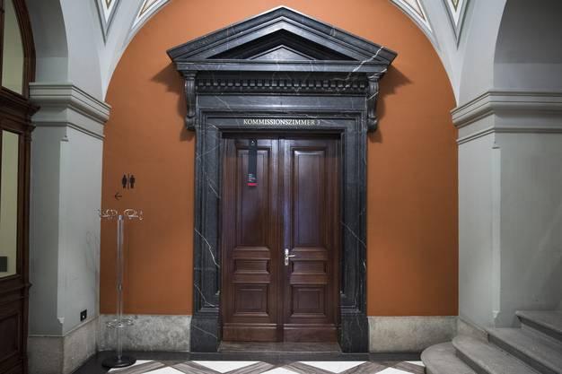 Sicht auf das Kommissionszimmer 3 im Bundeshaus.