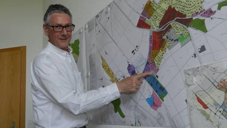 Der Waltenschwiler Gemeindeammann Michel Christen sieht die Gemeinde auf der Erfolgsspur. BA