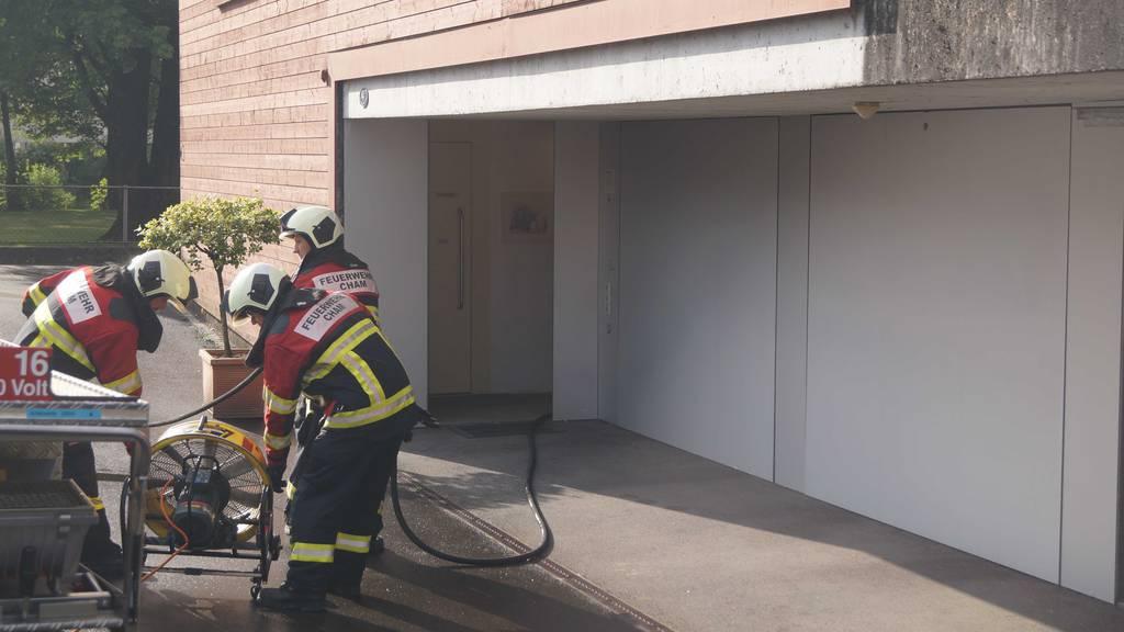 Luftentfeuchter verursacht Feuer in Keller