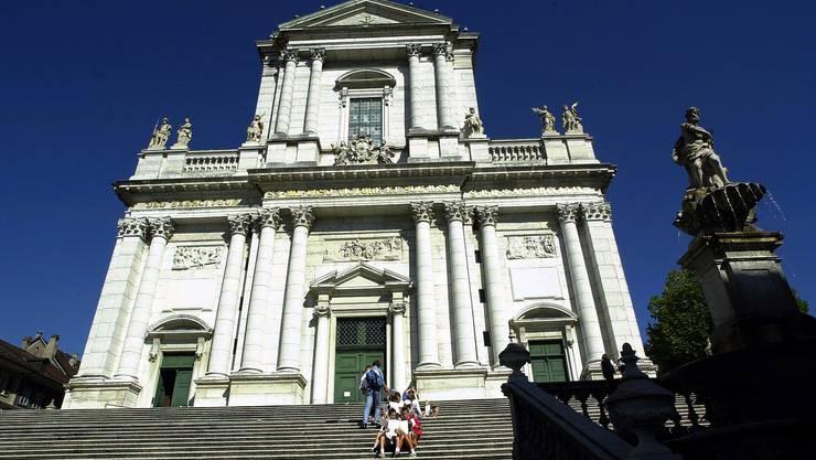 Ganz im Zeichen der «11»: die St. Ursen-Kathedrale in Solothurn.