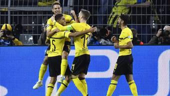 Gleich vier Treffer konten die Dortmunder an diesem Abend bejubeln.