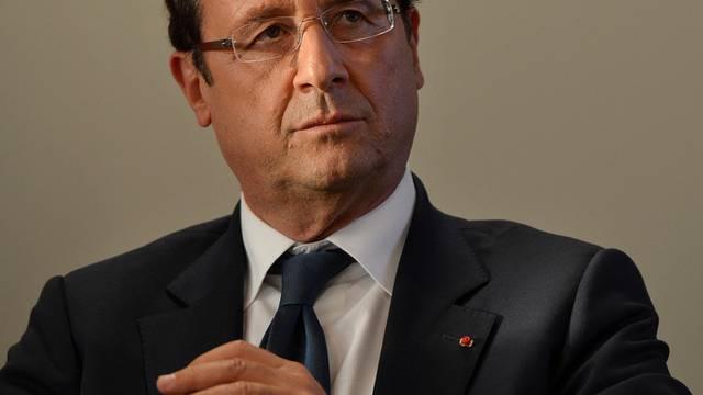 Kündigt drastische Steuererhöhungen an: Der französische Präsident François Hollande (Archiv)