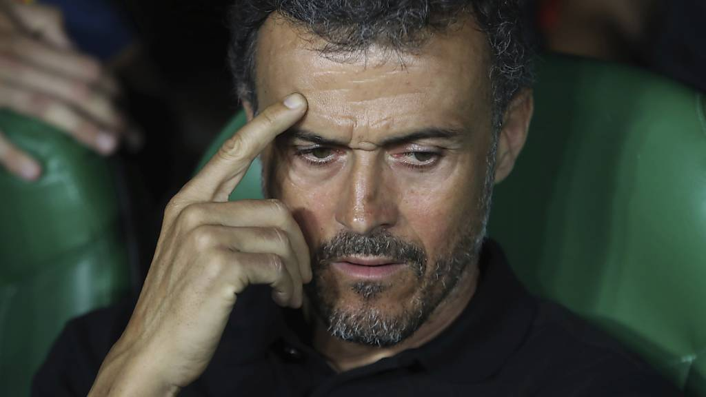 Luis Enrique kehrt wieder auf die Trainerbank Spaniens zurück.