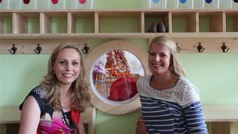 Die «Kitapunkt»-Geschäftsleiterinnen Corinne Welzenbach-Egger (l.) und Fabienne Burgy.