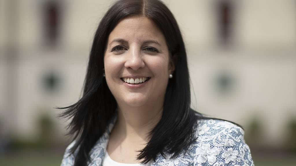Die St. Galler Regierungsrätin Laura Bucher (SP) informierte über ihre ersten 100 Tage im Amt: Einen Schwerpunkt bildete die Bewältigung der Coronakrise, etwa die Nothilfe für Bedürftige oder die Unterstützung von Kulturschaffenden (Archivbild).