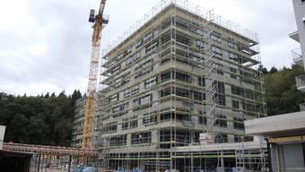 So sah der Neubau des Alterszentrums Kehl rund ein Jahr vor Bezug im Herbst 2016 aus.