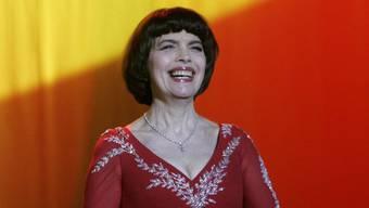 Jubiläumstournee angekündigt: Mireille Mathieu (Archiv)